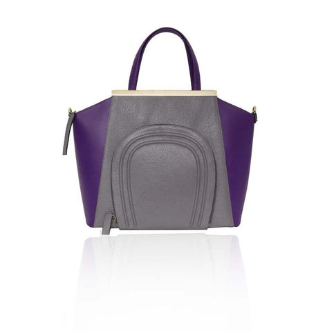 Grey & Plum Sharon Tote