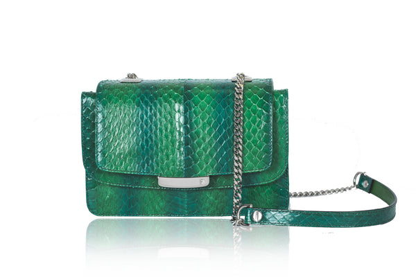 Green Mini Jackie O Shoulder Bag