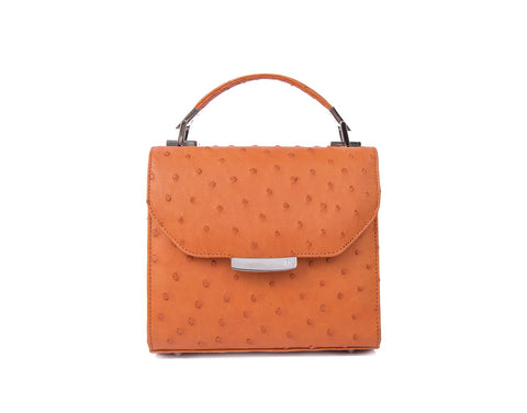 Papaya Orange Mini Steffany Tote