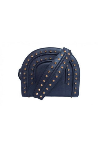 Navy Thalia Cross Bag