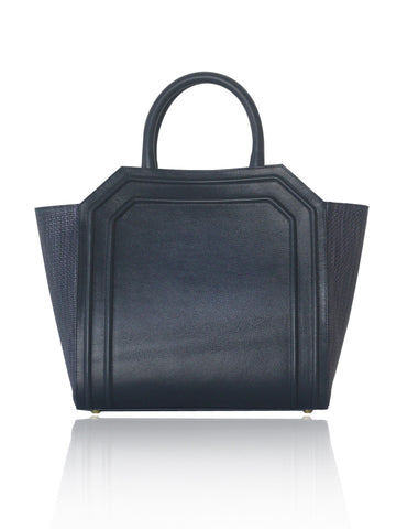 Navy Medium Sharon Tote
