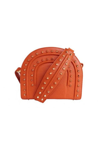 Papaya Orange Thalia Cross Bag