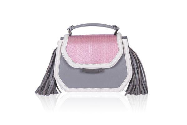 Rose & Gray Mini Anabella Tote