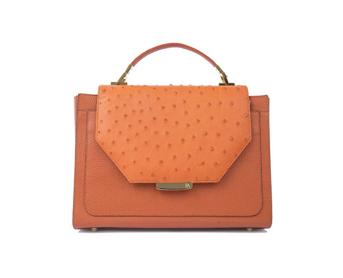 Papaya Orange Steffany Tote
