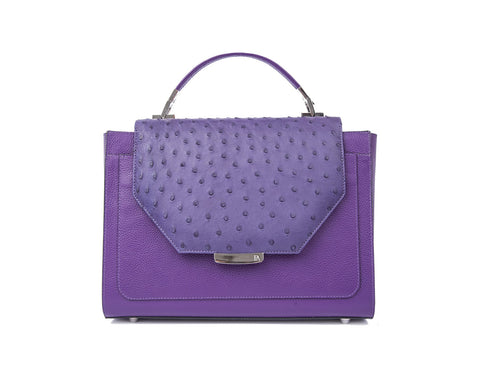 Plum Steffany Tote