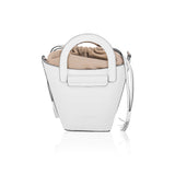 White Cleamance Bucket Bag