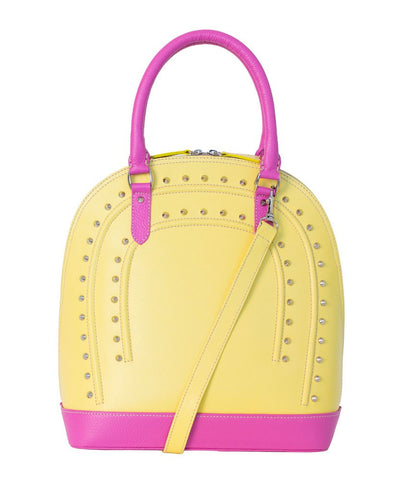 Yellow Stella Tote/ Shoulder Bag