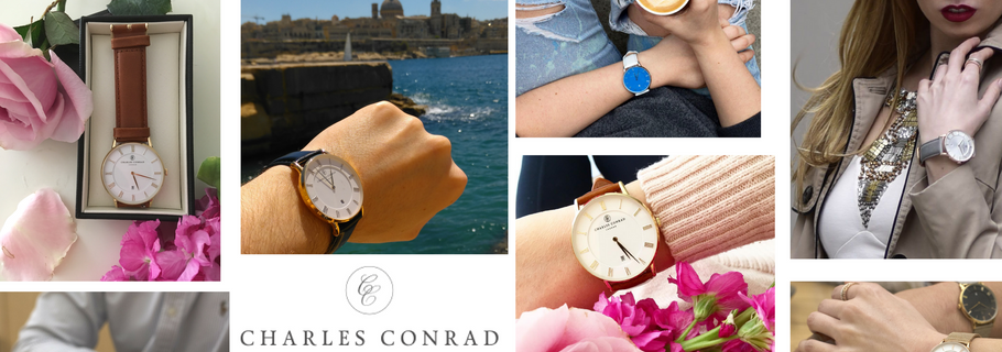 Win a Charles Conrad watch of your choice worth over £150