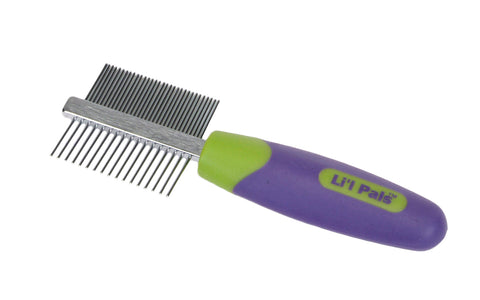 Lil pals double sided dog comb