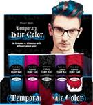 Fright Night Colored Hair Gel 15pc Display