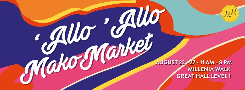 'Allo 'Allo, We're Having Our Very First Pop-up Event!