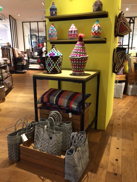 Weave Baskets at Le Bon Marché Paris