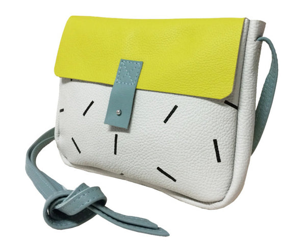 Pony Motel Room Service Bag in Yellow/Sprink