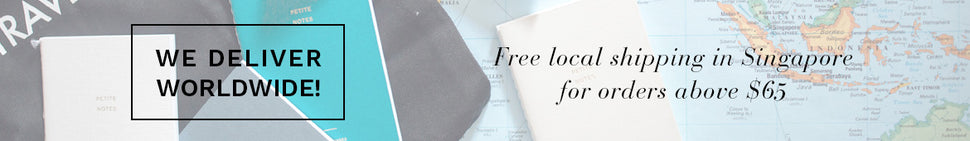 Free Local Shipping in Singapore for Orders above $65