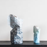 Paper Vase Cover - Grey Gradient