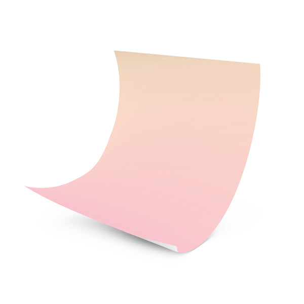 Sunrise, Sunset - Pastel Ombre Wrapper (Orange/Pink)
