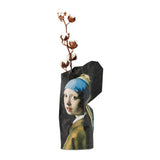Paper Vase Cover - Girl with Pearl Earring by Johannes Vermeer