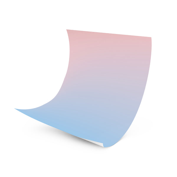 Sunrise, Sunset - Pastel Ombre Wrapper (Pink/Blue)