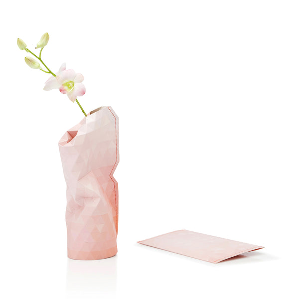 Paper Vase Cover - Pink Tone (Small)
