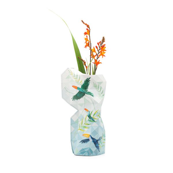Paper Vase Cover - Toucan