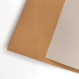 Minimalist Notebook Cover (Brown)