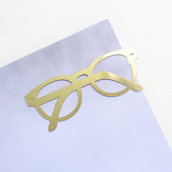 Riviera Brass Bookmark
