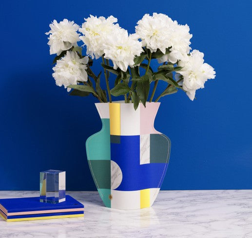 Paper Vases By Octaevo Curated By Salt Sweeter Singapore