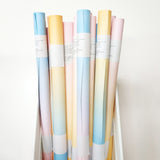 Sunrise, Sunset - Pastel Ombre Wrapper (Blue/Orange)