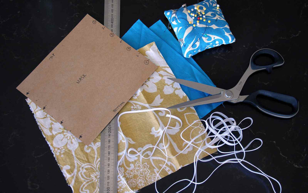 How to sew a covid mask