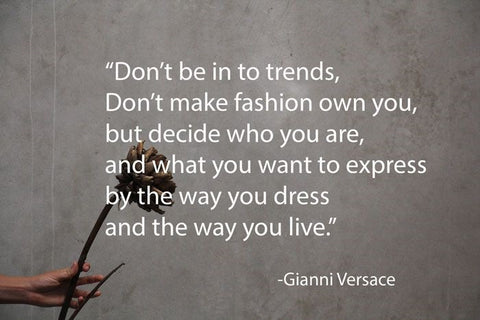 Gianni Versace quote