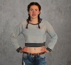 Cropped hoody sewing pattern