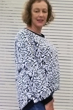 Fantail Sweatshirt - sewing pattern-Kim Kennedy1