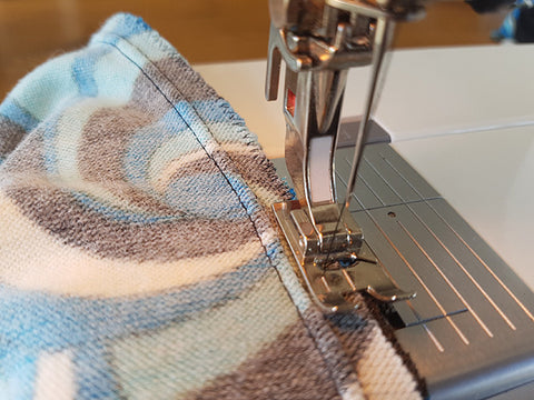 How to sew a stretch seam