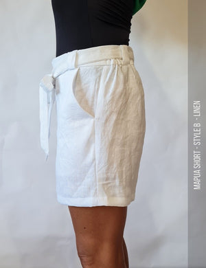 Easy womens short sewing pattern