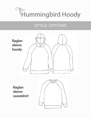 Hummingbird Hoody sketch