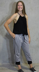 3/4 track pant sewing pattern