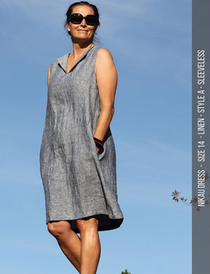 Nikau dress PDF sewing pattern - without belt