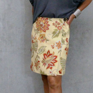 ladies wrap skirt sewing pattern