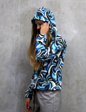 Hummingbird Hoody side view