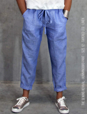 Linen pants sewing pattern