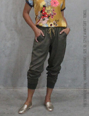 Hummingbird pant in tencel