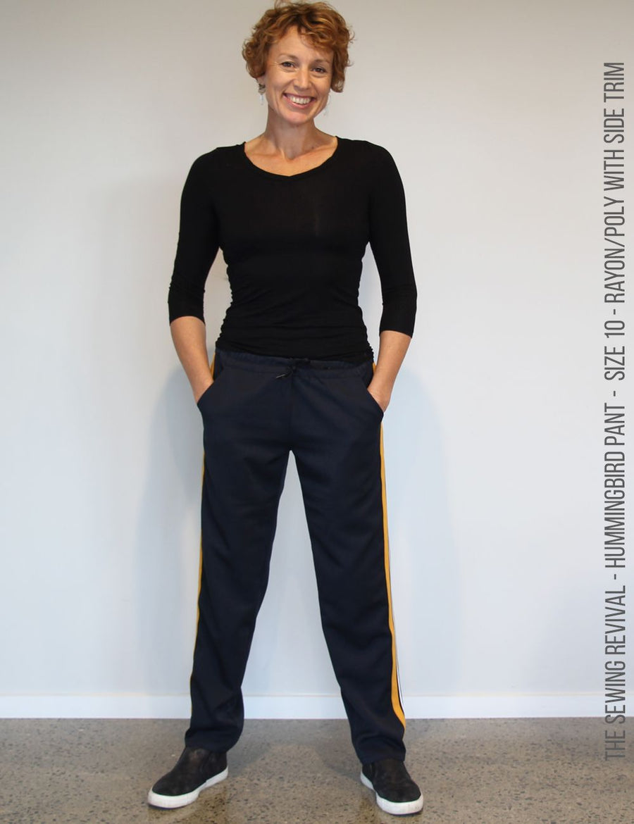 Easy track pant sewing pattern