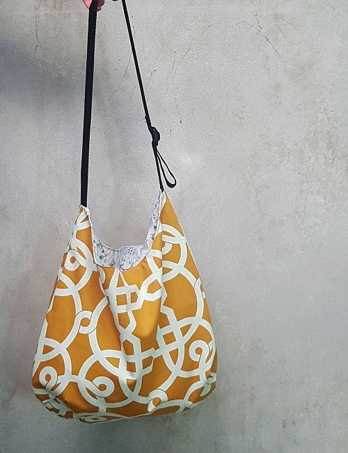 Apporto shoulder bag sewing pattern