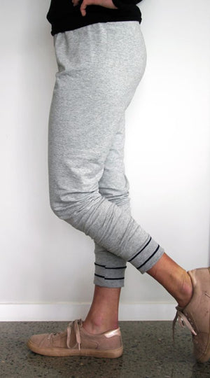 Snug pant style B with cuff side view