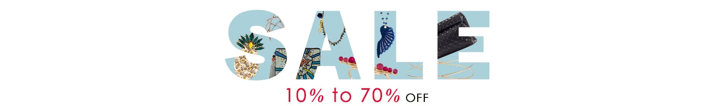 Sale 10% to 70% off