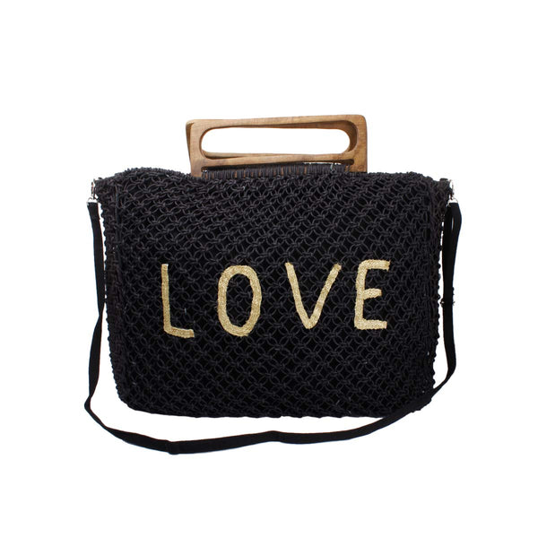 Love beach bag