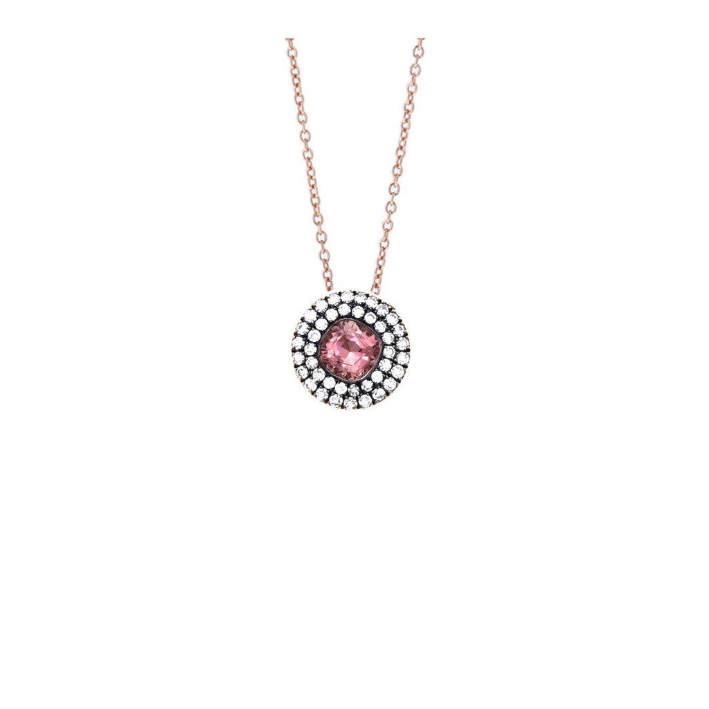 18K Rose Gold Pink Tourmaline Necklace | Selim Mouzannar |Fine Jewelry | Necklace