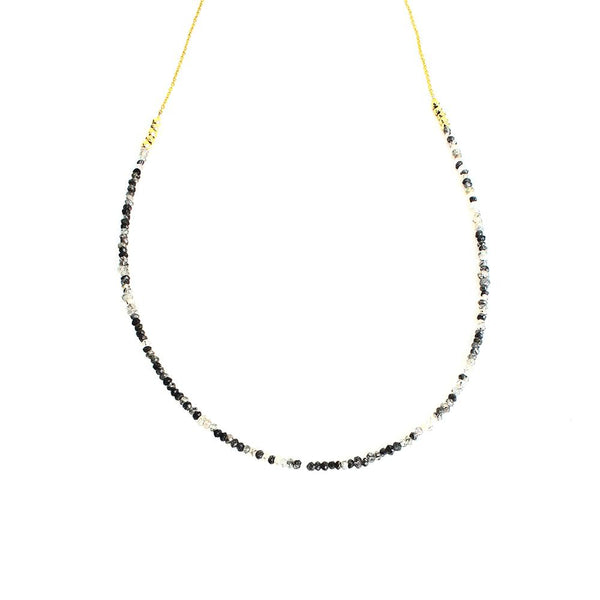 Rutil Long Necklace | Sonya Renee | Fashion Accessories | Necklace | Boom and Mellow Dubai
