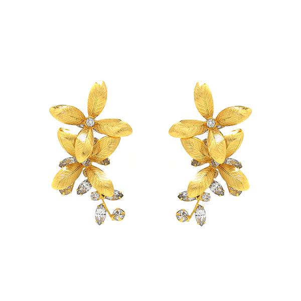 Shop Layla elearrings gold | Jennifer Behr | Fashion Accessories | Earrings
