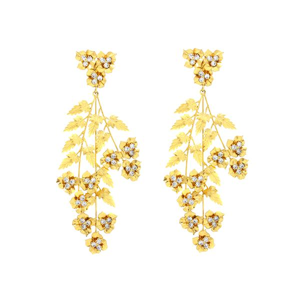 Shop Aveline chandelier earrings | Jennifer Behr | Fashion Accessories | Earrings